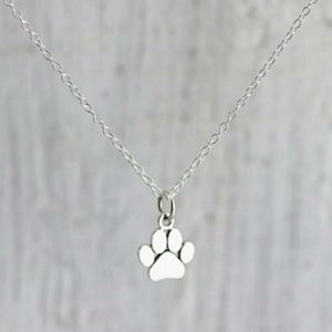 Jewelry - 4 LEFT! 🐾 Delicate Paw Print Necklace